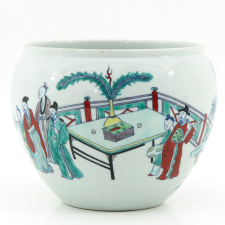 A Doucai Decor Fish Bowl