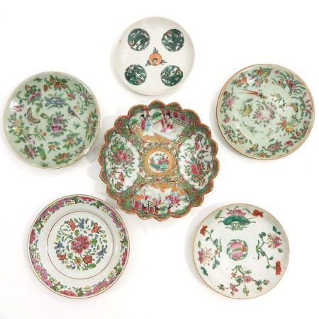 A Collection of 6 Plates