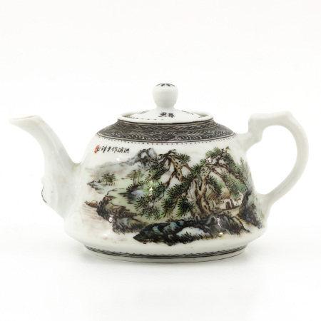 A Landscape Decor Teapot