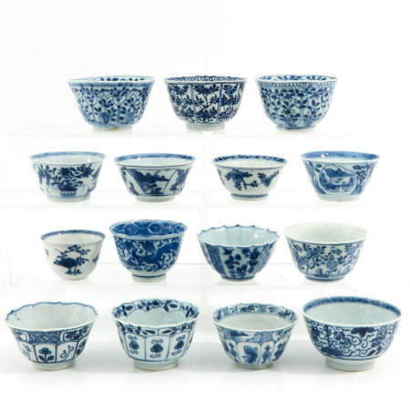 A Collection 15 Cups