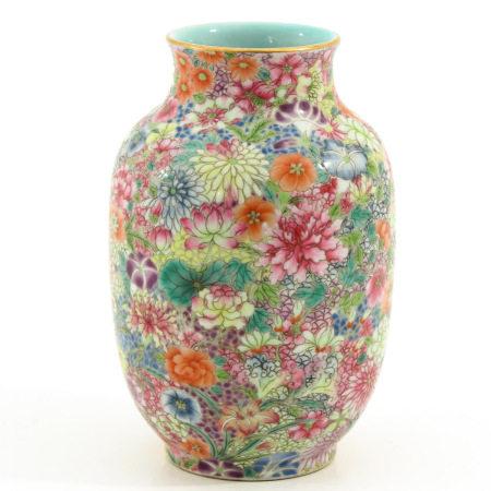 A Small Mille Fleur Vase