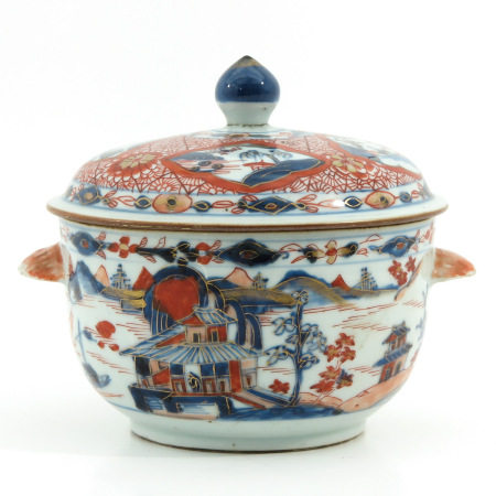 An Imari Serving Bowl and Cover