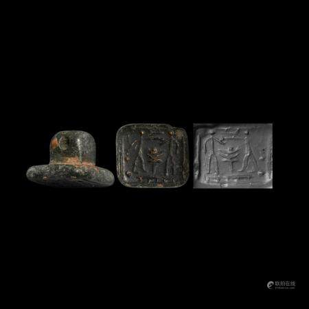 Western Asiatic Figural Stamp Seal