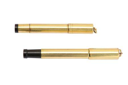 TWO GOLD FILLED FOUNTAIN PENS