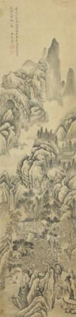 江参《山水》
