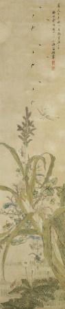 翁小海《花卉》