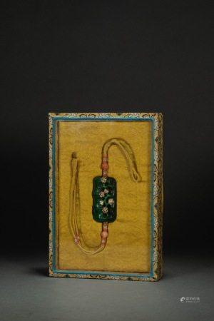清代牙雕君子佩 Carved JunZi Pendant from Qing