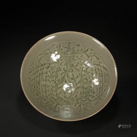 宋代耀州大碗 YaoZhou Kiln Gaint Bowl from Song