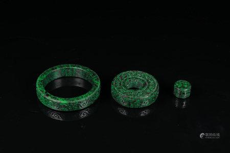 Jadeite Jewellery Items