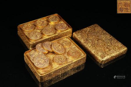 Bronze Gilt Box