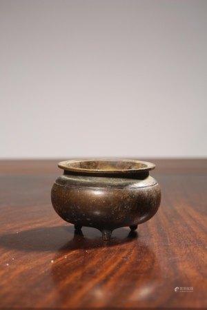昭和時期銅香爐