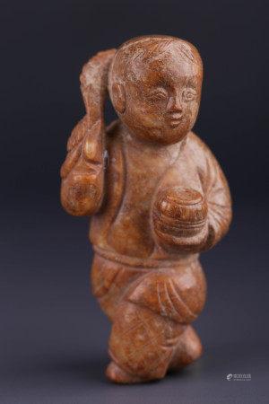 中国玉-童子