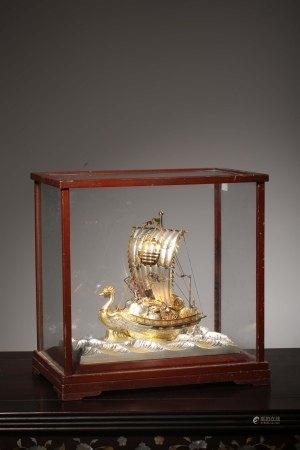 昭和時期鳳首聚寶船