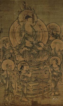 佚名 佛像