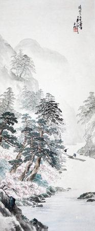林风眠 山水