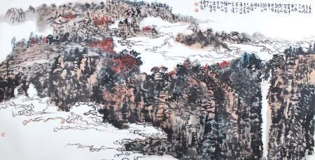 钱松喦 山水