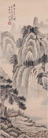 秦岭云 山水