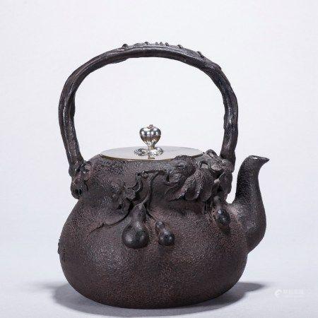 葫芦万代铁壶