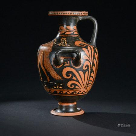 3世紀 希臘彩陶人物紋雙耳壺