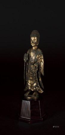 北魏 銅鎏金釋迦像