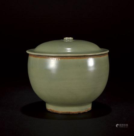 龍泉窯蓋碗