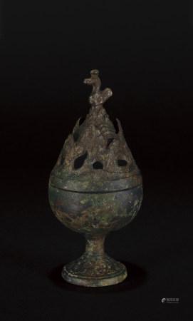 漢 青銅博山爐