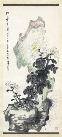 1969年作 王蘭若 菊石