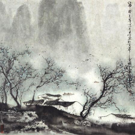 1987年作 馬利龍 江南春色