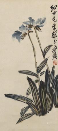 齊白石(款) 花卉