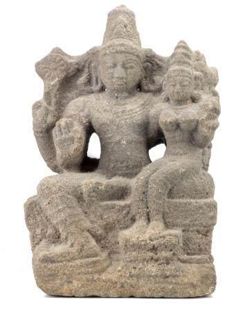 INDE DU SUD, DYNASTIE CHOLA 12ème SIECLE Shiva et Parvati
