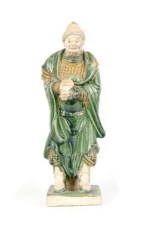CHINE, DE STYLE DYNASTIE TANG Statuette