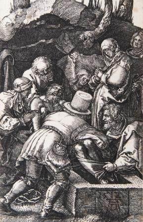 Albrecht Dürer (Nürnberg 1471 - Nürnberg 1528). Entombment of Christ.