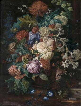 S. Hofmann begining 20th cent. Flower Still Life.
