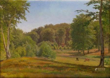 Anders Andersen-Lundby (Lundby 1841 - München 1923). Rural Idyl.