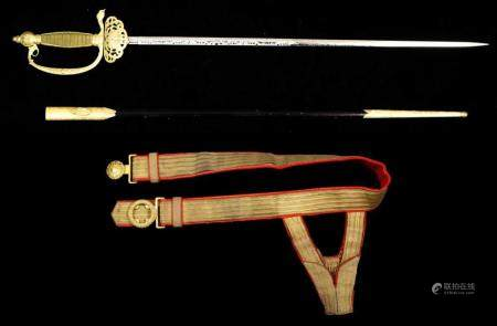 A Japanese Amabassador court sword
