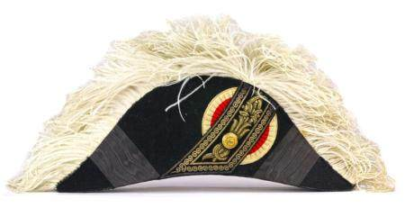 A Japanese Meiji Period full dress bicorn hat