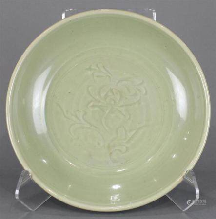 A large Song style celadon charger