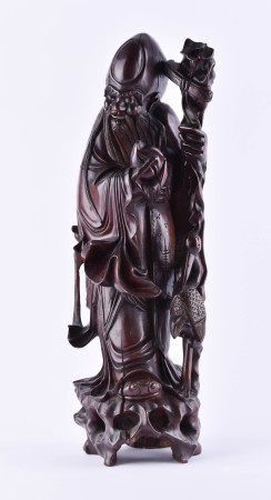 Wooden figure China