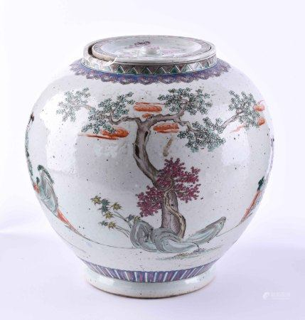 Ginger pot China late Qing period