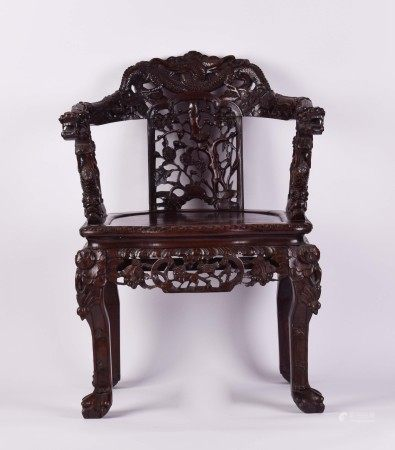 Armchair China Qing period