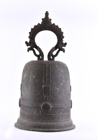 title: Temple bell South China / Vietnam Qing period 17th / 18th century
