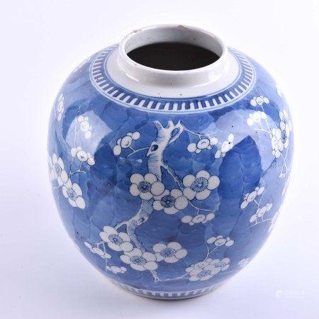 Ginger pot China Qing period