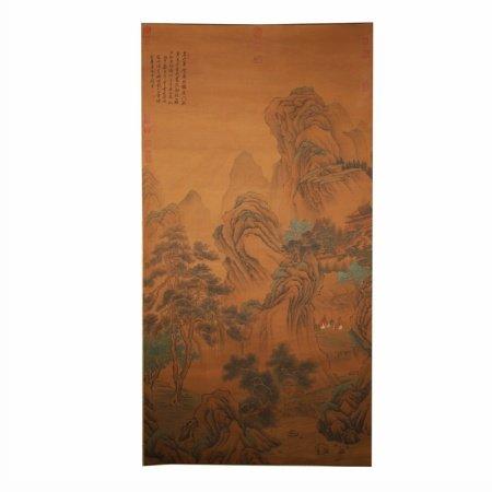 王翚 山水图
