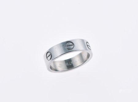 卡蒂亞鉑金戒指