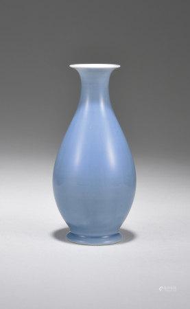 天青釉花瓶