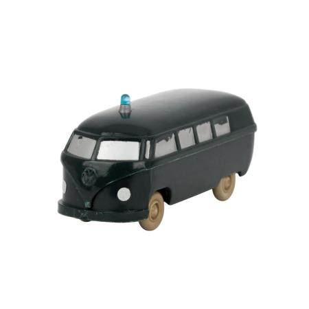 WIKING VW-Bus Polizei-Unfallwagen, um 1960, Rarität!