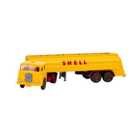 WIKING Shell-Tanksattelzug MAN 10.230, 1966,