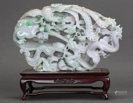 Chinese jadeite carving