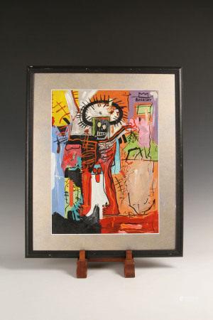 尚-米榭·巴斯奇亞  無標題 Jean-Michel Basquiat  untitled