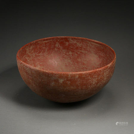 HONGSHAN PERIOD RED POTTERY, CHINA